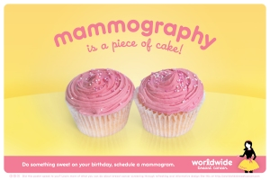 Piece of cake? (Credit: The Mayor of Worldwide Breast Cancer)