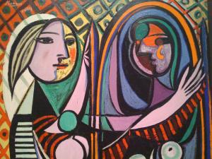 Picasso's 'Girl before a mirror' (Photo credit: Nathan Laurell via Flickr)
